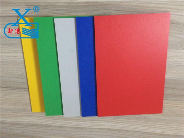 广州PVC彩色发泡板厂家