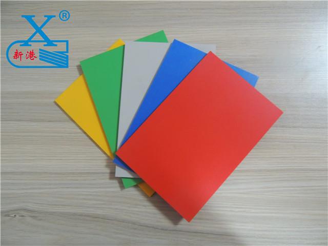 PVC彩色发泡板规格
