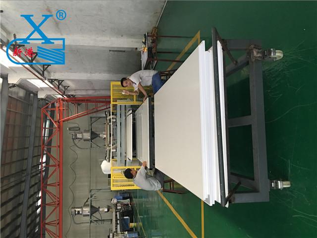 PVC自由发泡板生产
