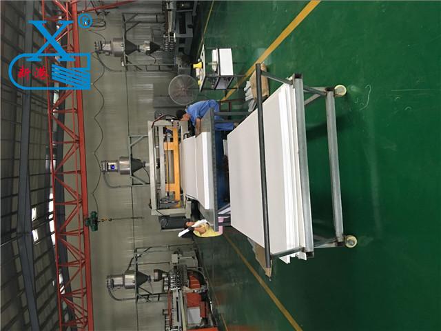 PVC木塑板生产