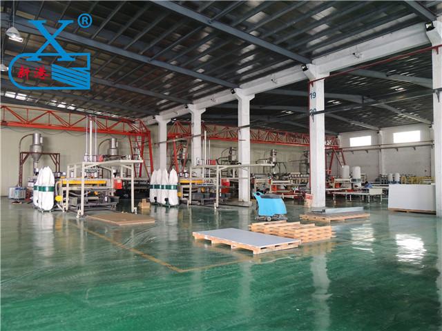 广州PVC板材生产车间