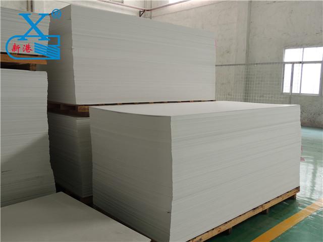 广州PVC结皮板出口